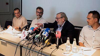 """Los trabajadores de Eulen ven el laudo """"inconstitucional"""" y votarán el lunes si mantienen la huelga"""