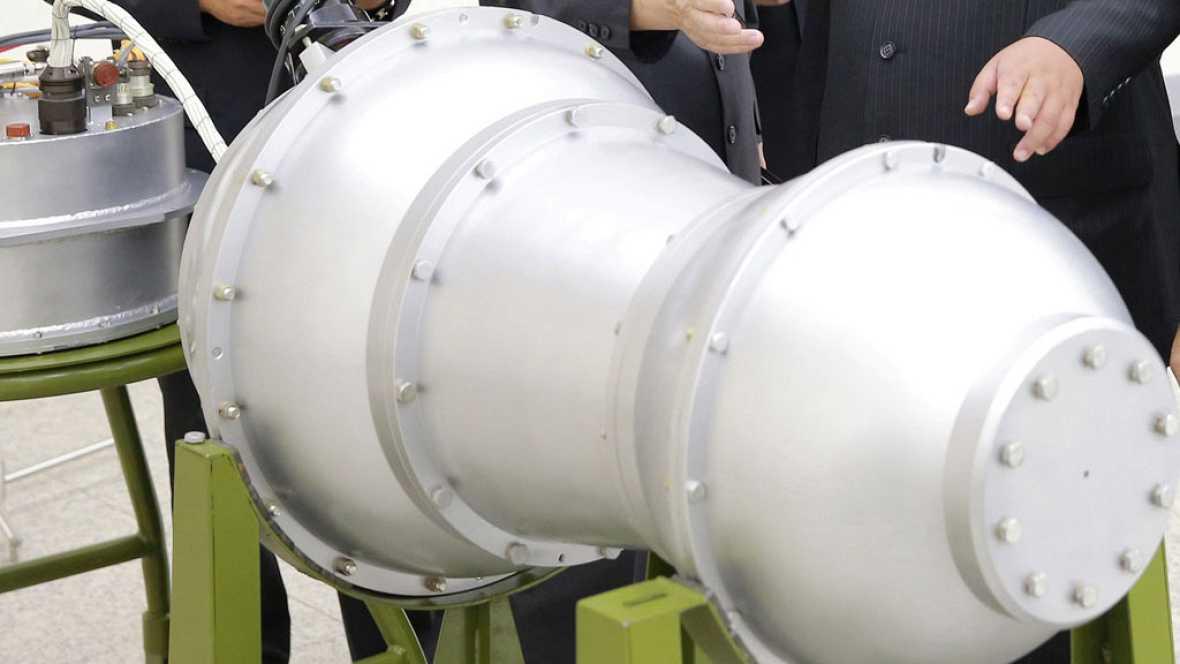 Las bombas de hidrógeno, armas termonucleares mortíferas