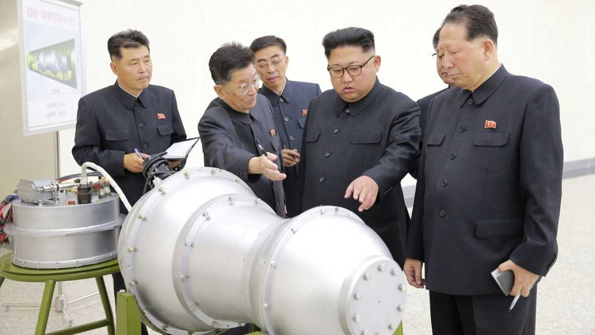 """Corea del Norte asegura que ha probado """"con éxito"""" una bomba de hidrógeno"""