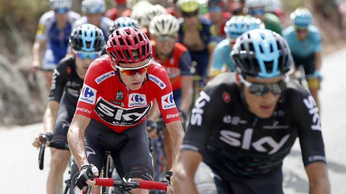 Vuelta Ciclista a España 2017 - 15ª etapa: Alcalá la Real - Sierra Nevada - Alto Hoya de la Mora (1) - ver ahora