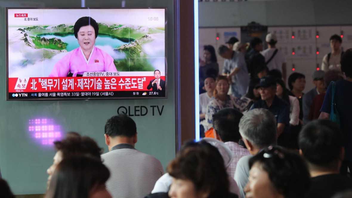 La comunidad internacional pide más sanciones contra Corea del Norte tras el nuevo ensayo nuclear