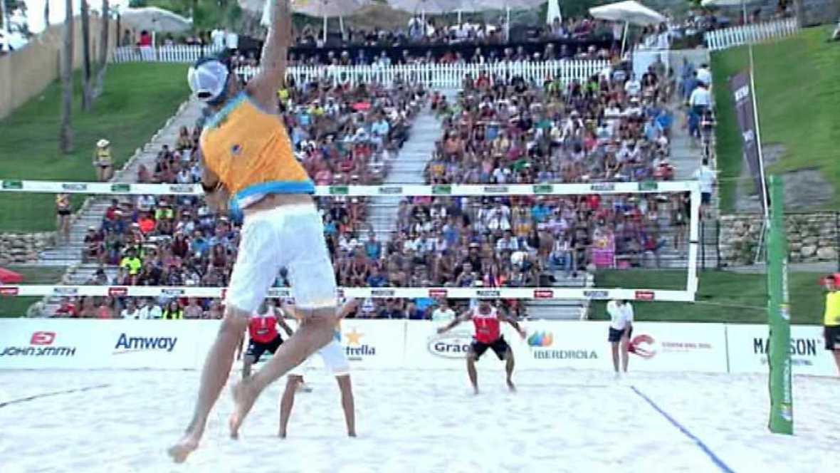 Voley playa - Madison Beach Volley Tour 2017. Campeonato de España. Final Masculina, desde Fuengirola - ver ahora