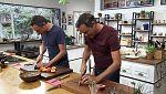 Torres en la cocina - Pasta con mejillones y tortilla dulce
