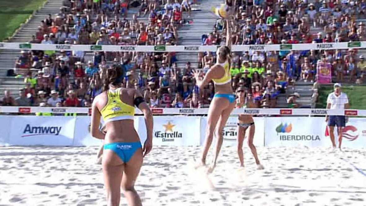 Voley playa - Madison Beach Volley Tour 2017. Campeonato de España. Final Femenina, desde Fuengirola - ver ahora