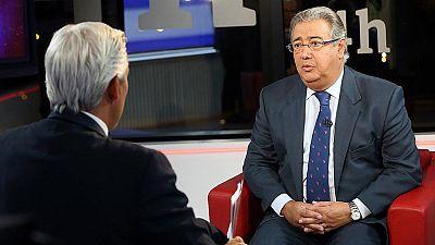 Zoido pide al Govern aclaraciones sobre el aviso de la CIA: Cuando se generan dudas, hay que dar explicaciones