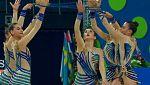 Gimnasia rítmica - Campeonato del Mundo, Final Conjuntos Parte I