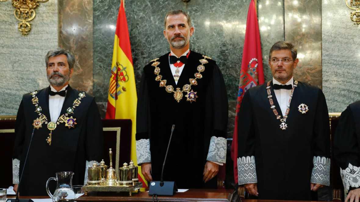 La cuenta atrás hacia el 1 de octubre ha marcado la apertura del año judicial