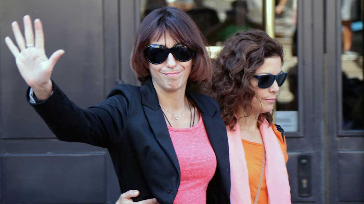 Juana Rivas declara en los juzgados de Granada