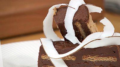 Torres en la cocina - Tarta de galletas y chocolate