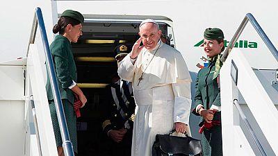 El Papa llegará  a Colombia para una visita de cuatro días
