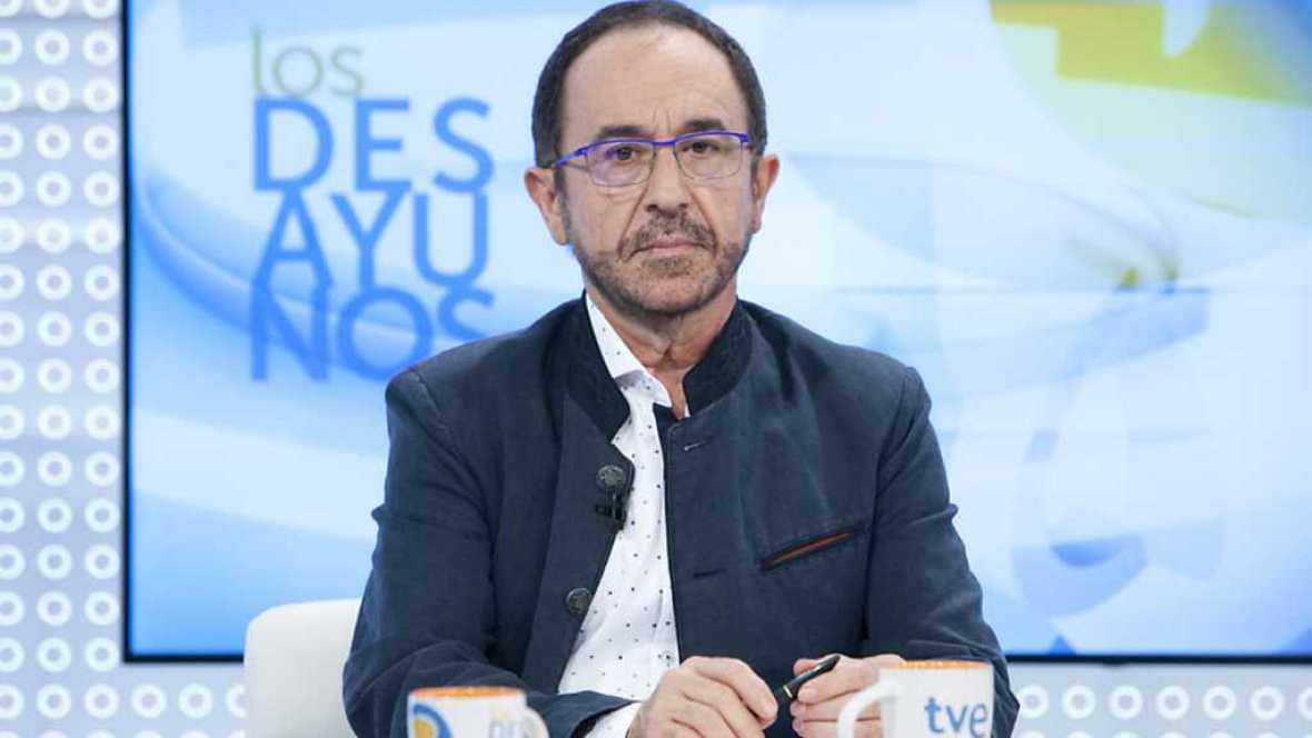 Los desayunos de TVE - Andrés Perelló, secretario de Justicia, Nuevos Derechos y Libertades del PSOE - ver ahora