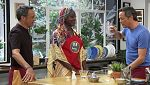 Torres en la cocina - Rollitos de primavera y tarta de galletas