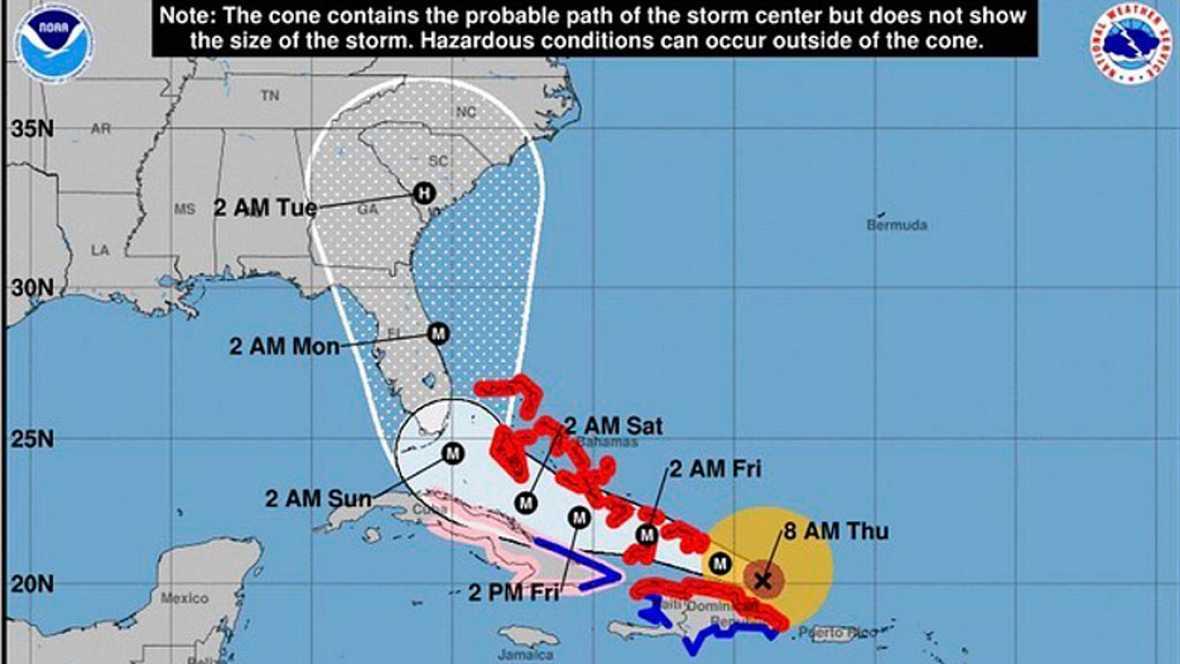 El huracn Irma borra del mapa las islas de San Martn y Barbuda