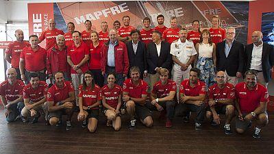 El equipo 'Mapfre' será el único español que participe en la regata oceánica, que recorrerá 11 puertos en 140 días. El campeón olímpico Xabi Fernández liderará la tripulación.