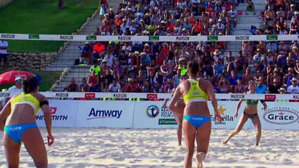 Voley playa - Madison Beach Volley Tour 2017. Campeonato de España, desde Fuengirola. Resumen - ver ahora