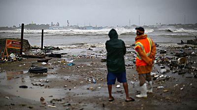 El huracán Irma ya descarga sobre la República Dominicana