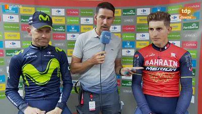 El joven asturiano confiesa que ha vivido un sueño durante su aventura en solitario por las carreteras que mejor conoce en plena Vuelta a España.