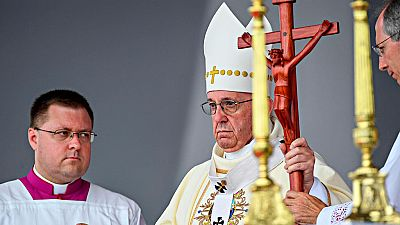 El papa vuelve a llamar a la reconciliación en uno de los feudos de las FARC en Colombia