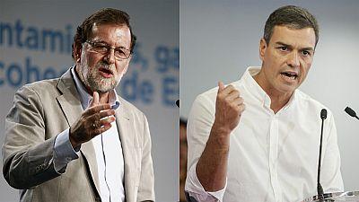 Rajoy y Sánchez expresan su apoyo a los alcaldes de Cataluña ante el 1-O