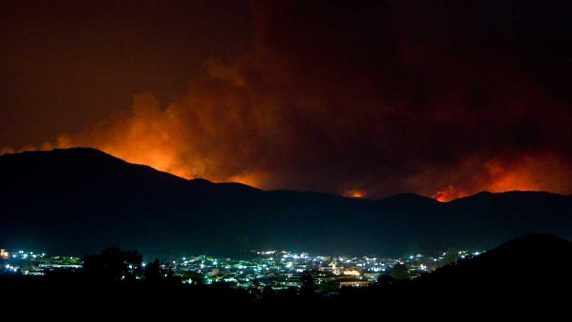 Todo apunta a que el incendio en La Granada de Riotinto ha sido intencionado