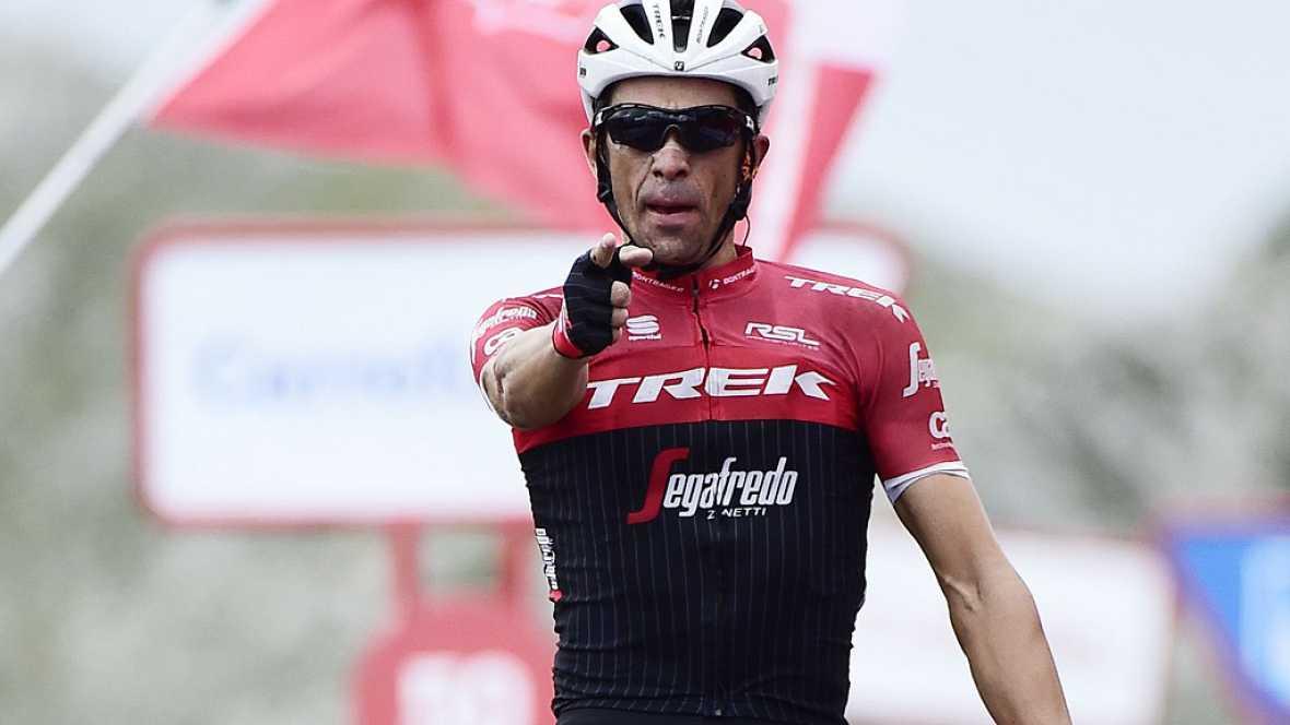 Alberto Contador volvió a ganar en el Angliru en la que ha sido su última gran etapa como profesional, mientras que Froome certificó su triunfo en la general.