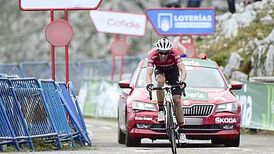 Vuelta Ciclista a España 2017 - 20ª etapa: Corvera de Asturias - Alto de L'Angliru (2) - ver ahora