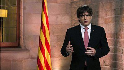 Puigdemont advierte de que solo el Parlament puede inhabilitarlo