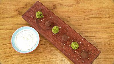 Torres en la cocina - Trufas de chocolate y aguacate