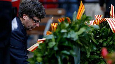Puigdemont insiste en la legalidad del referéndum y asegura que no tiene miedo a que lo detengan
