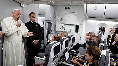 El papa Francisco ha llegado a Roma procedente de Colombia donde ha permanecido durante cinco días