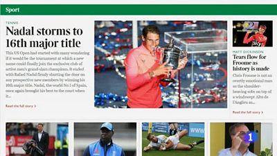 Además de ocupar las portadas de todo el mundo, los personajes más relevantes del deporte español le han mandado sus felicitaciones.