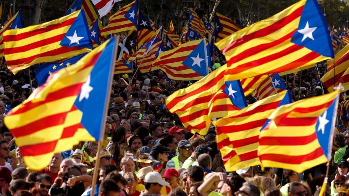 Viva la independencia de Cataluña