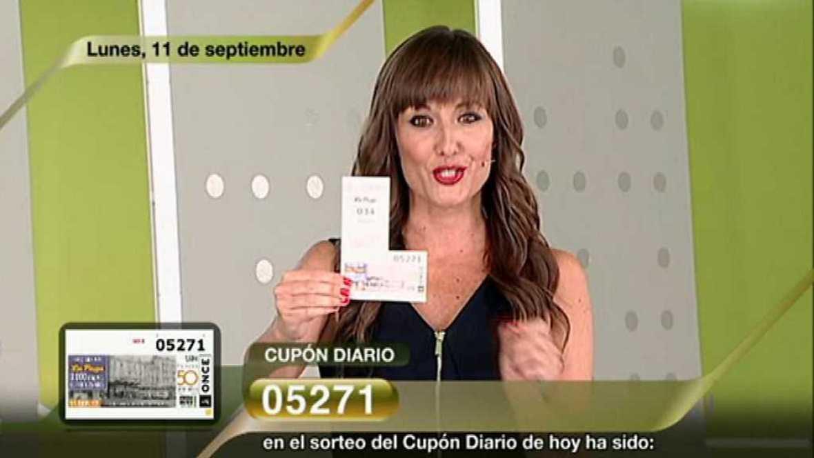 Sorteo ONCE - 11/09/17 - ver ahora