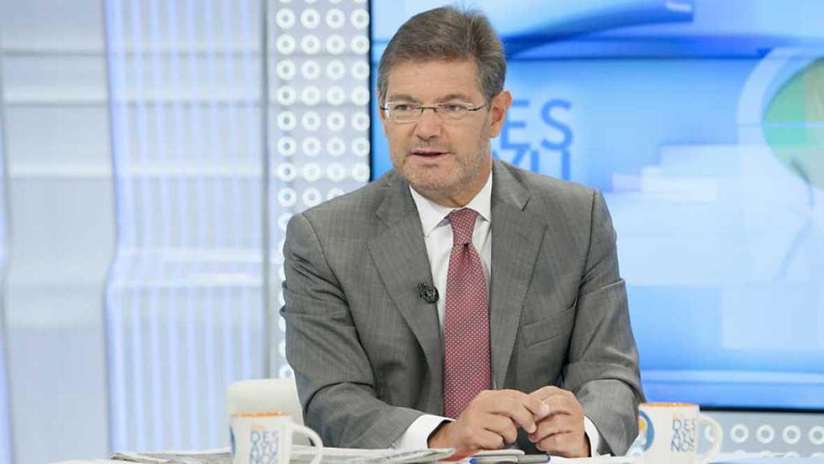 Los desayunos de TVE - Rafael Catalá, ministro de Justicia - ver ahora