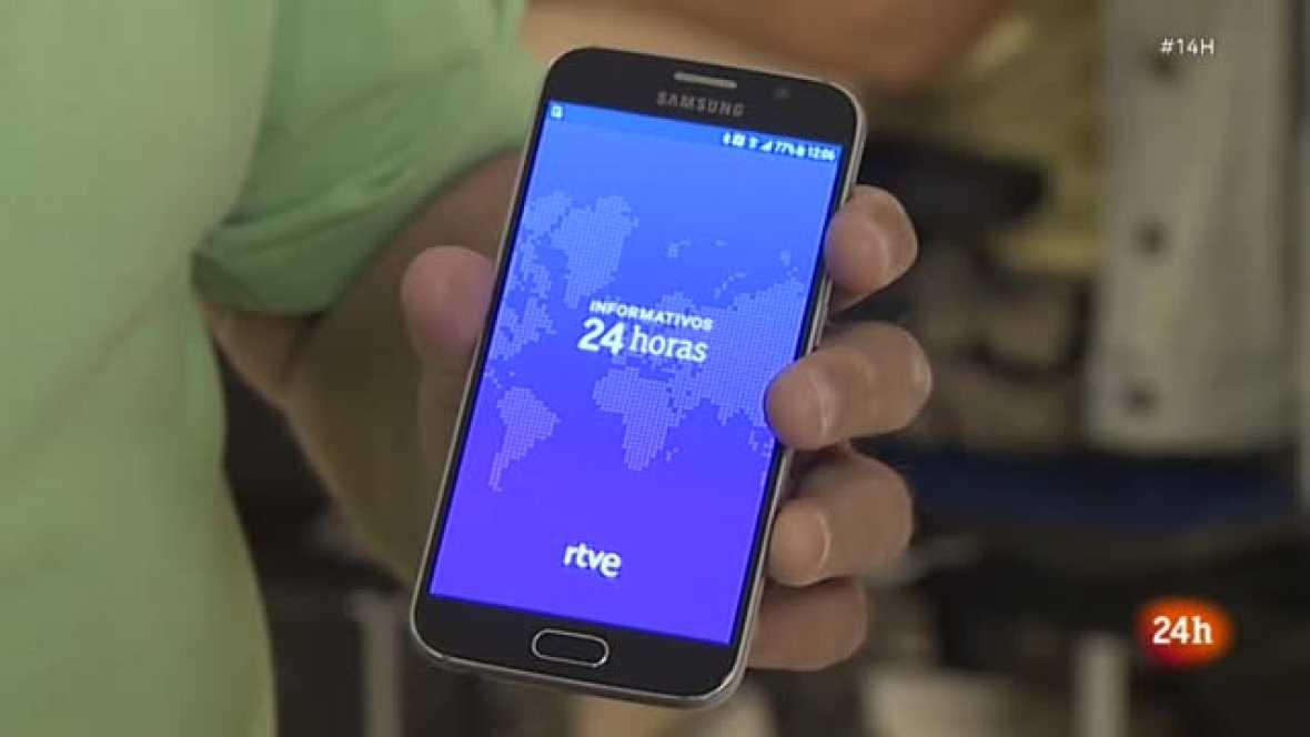 RTVE lanza la nueva aplicación de noticias 'Informativos 24 Horas'