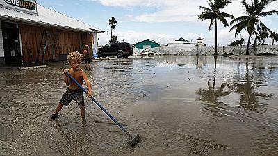Irma deja bloqueadas a miles de personas en los Cayos de Florida