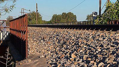 Un tren arrolla a un menor en Pepino, Toledo