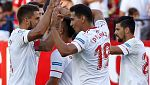 El Sevilla, ilusionado con su estreno en Champions