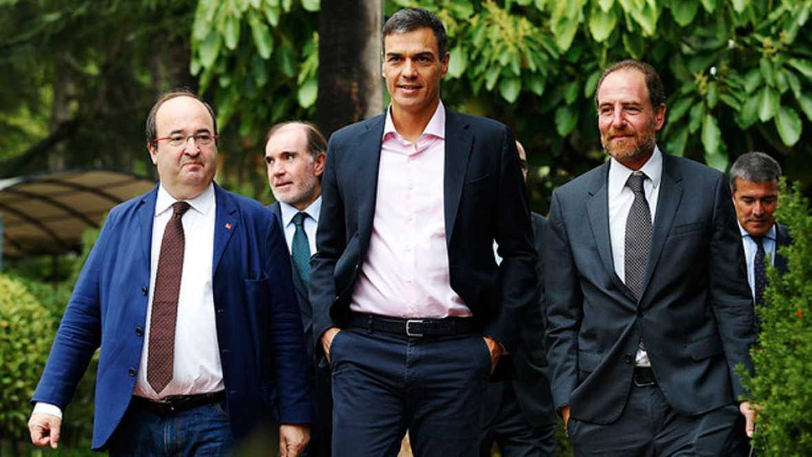 Fuera del hemiciclo Cataluña ha protagonizado las conversaciones