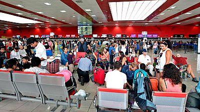 El aeropuerto de la Habana reanuda sus vuelos después de tres días cerrado