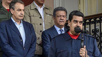 Maduro acepta reanudar el diálogo con la oposición con la mediación de Zapatero