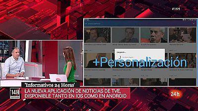RTVE estrena la nueva aplicación 'Informativos 24 horas'