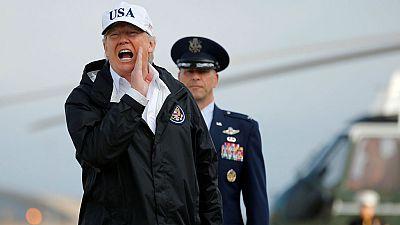Donald Trump viaja hoy a Florida para visitar las zonas devastadas por el huracán Irma