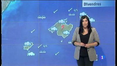 El temps a les Illes Balears - 14/09/17