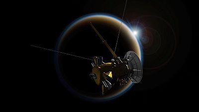La misión de la sonda Cassini  llega a su fin tras trece años