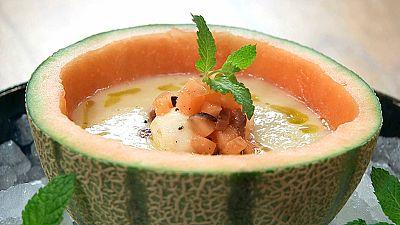 Torres en la cocina - Sopa de melón