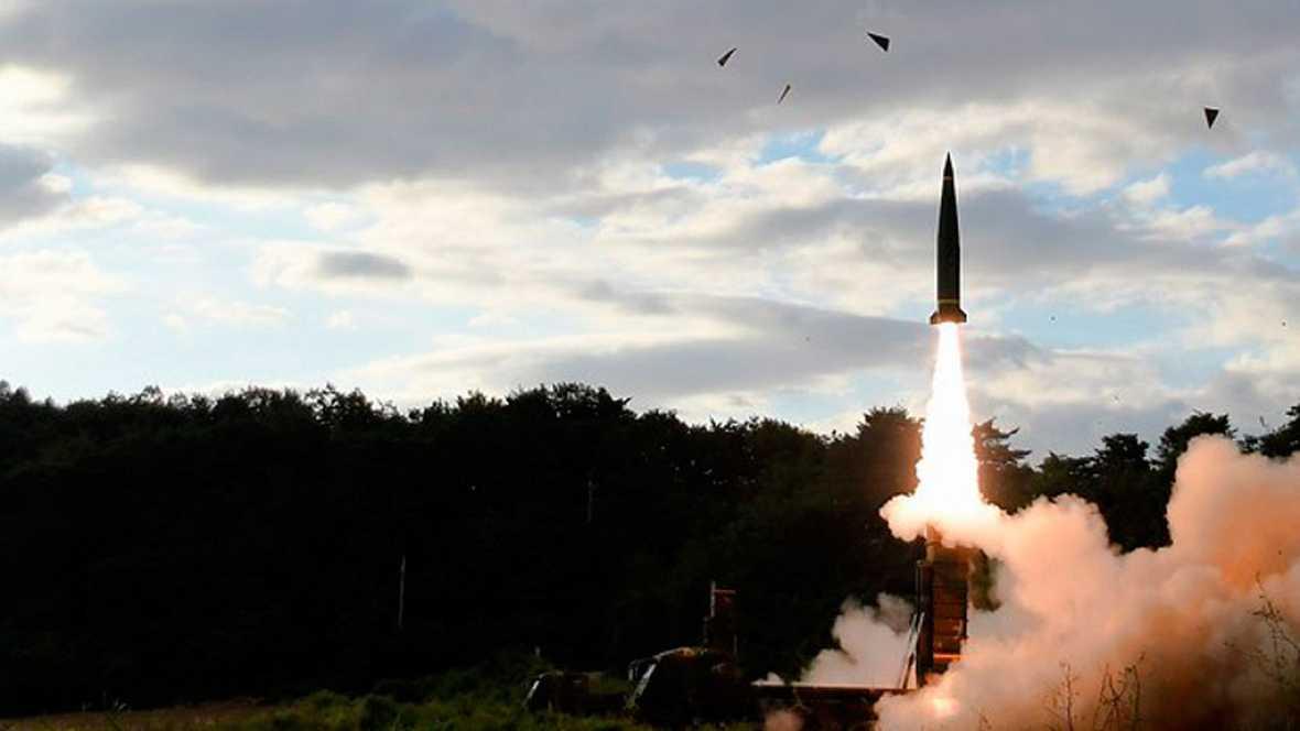 Las sirenas han vuelto a sonar esta madrugada en Japón para alertar de la presencia de un misil en el aire enviado pro Corea del Norte