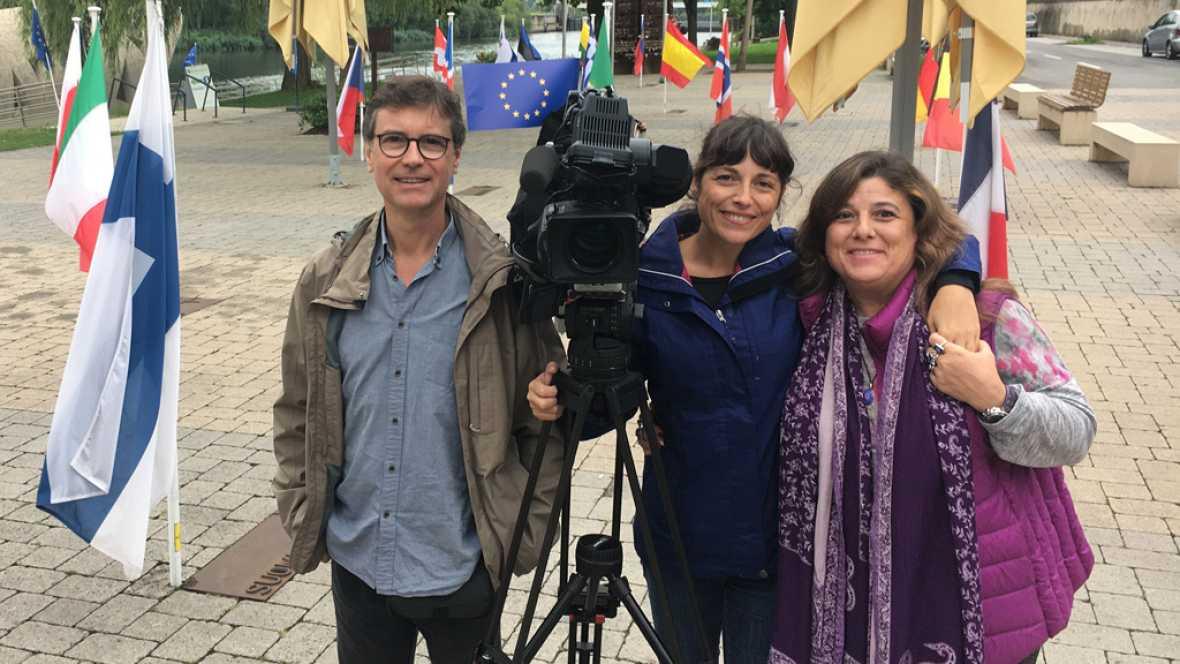 En Portada: Making of de 'Un pueblo en dos países'