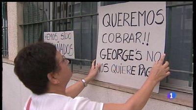 Els treballadors de George's reclamen una indemnització justa