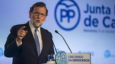 """Rajoy: """"Lo digo con la misma serenidad que firmeza, no habrá referéndum"""""""